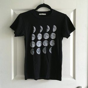 Brandy Melville Moon Phase T-shirt